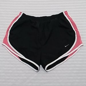 Nike Fitdry Women Athlectica Pink & Black Shorts